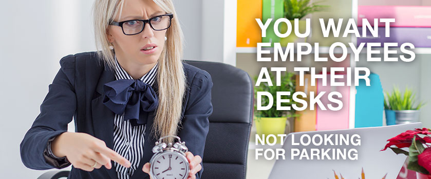 Boss upset with employee for being late to work