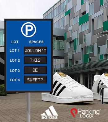 Adidas and Parking Logix