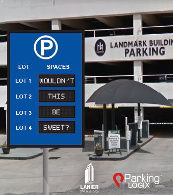 Lanier Parking and Parking Logix